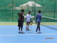 Tennis at Beausejour